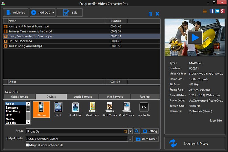 How to Convert Video Formats with Movavi Video Converter